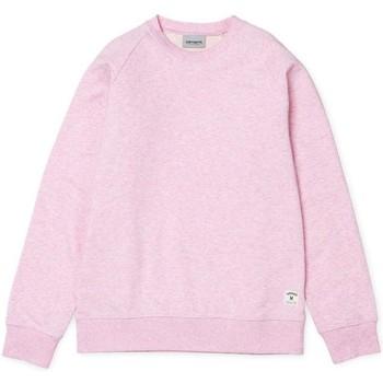 Clothing Women sweaters Carhartt Holbrook Sweatshirt Pink