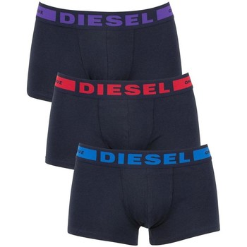 Clothing Trunks / Underwear Diesel Navy 3 Pack Seasonal Kory Boxer Trunks Navy