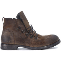 Shoes Men Mid boots Moma brown vintage leather ankle boots Grey
