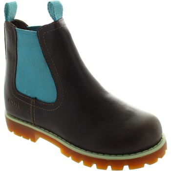 Shoes Girl Ankle boots Camper Compas Kids Teal