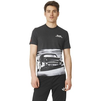 Clothing Men short-sleeved t-shirts adidas Originals Porsche Design Turbo Graphite