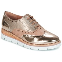 Shoes Women Derby Shoes Karston OFALA Pink / Powder