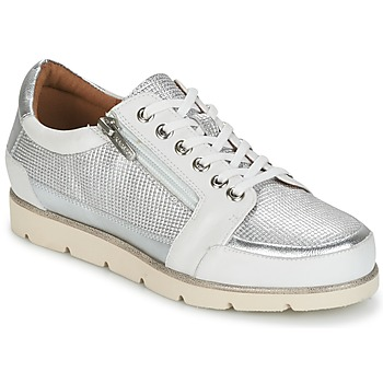 Shoes Women Low top trainers Karston CODAX Silver
