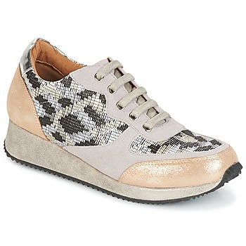 Shoes Women Low top trainers Karston SEMIR Beige / Gold