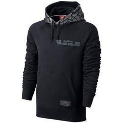 Clothing Men sweatpants Nike Lebron Pullover Hoodie Black-Grey