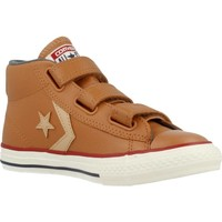 Shoes Children Hi top trainers Converse STAR PLAYER EV 3V Brown