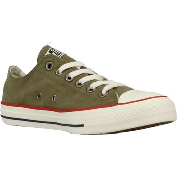 Shoes Women Low top trainers Converse CTAS OX MEDIUM Green