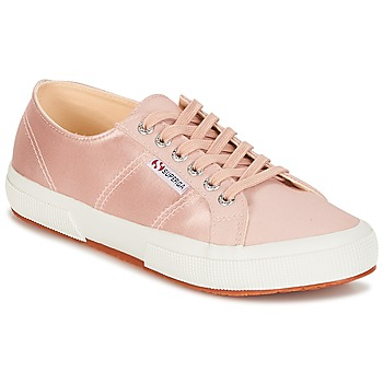 Shoes Women Low top trainers Superga 2750 SATIN W Pink
