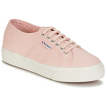 Shoes Women Low top trainers Superga 2730 COTU Pink
