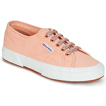 Shoes Women Low top trainers Superga 2750 CLASSIC SUPER GIRL EXCLUSIVE Peach