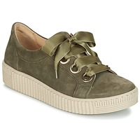 Shoes Women Low top trainers Gabor BOSER Kaki