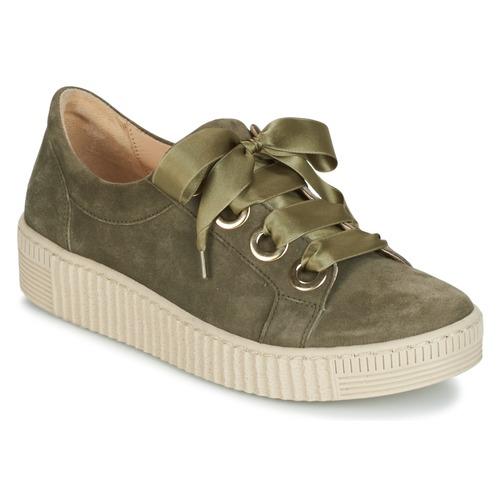 Shoes Women Low top trainers Gabor BOSER Kaki