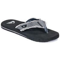 Shoes Men Flip flops Quiksilver MONKEY ABYSS M SNDL XSKC Grey