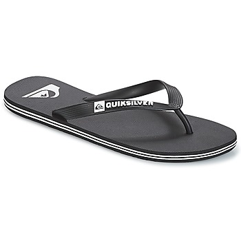 Shoes Men Flip flops Quiksilver MOLOKAI M SNDL XKKW Black