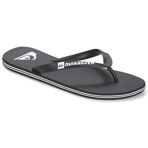 Shoes Men Flip flops Quiksilver MOLOKAI M SNDL XKKW Black