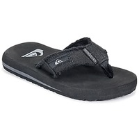 Shoes Boy Flip flops Quiksilver MONKEY ABYSS YT B SNDL XKKC Black