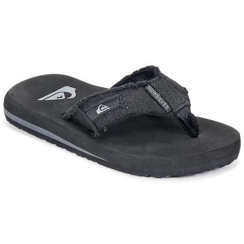 Shoes Children Flip flops Quiksilver MONKEY ABYSS YT B SNDL XKKC Black