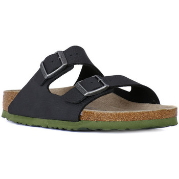 Shoes Men Mules Birkenstock ARIZONA SFB SOLL BLACK Nero