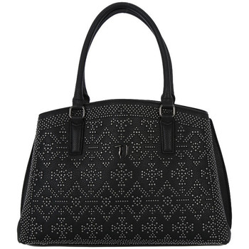 Bags Women Shopping Bags / Baskets Trussardi 299 SAMANTHA BLACK Nero
