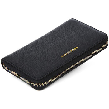 Bags Women Wallets Coccinelle 001 METALLIC SOFT Nero