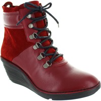 Shoes Women Ankle boots Fly London Sica Cordoba Red