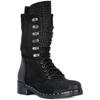 Shoes Women High boots Juice Shoes TACCO BLACK Nero