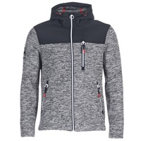 Clothing Men sweaters Superdry STORM MOUNTAIN ZIPHOOD Grey