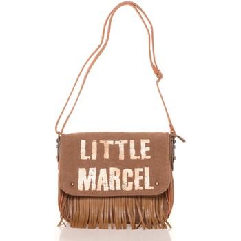 Bags Women Messenger bags Little Marcel Sac a Rabat Victoire Beige VI 04 Beige
