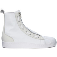 Shoes Men Hi top trainers Y-3 Pro Zip white neoprene sneaker White