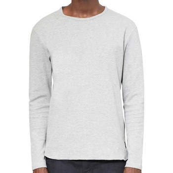 Clothing Men jumpers Only & Sons Herluf Curved O - Neck Grey