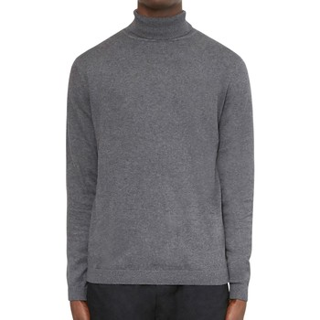 Clothing Men jumpers The Idle Man Turtle Neck Jumper Grey