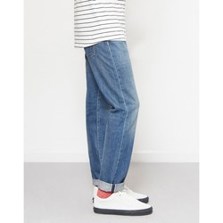 Clothing Men straight jeans Edwin ED-80 Slim Tapered Nihon Menpu Japan Selvage Stretch Fabric Jea Blue