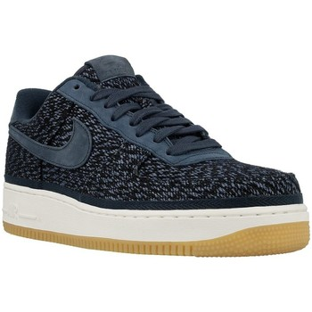 Shoes Men Low top trainers Nike Air Force 1 07 Indigo Blue-Navy blue