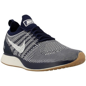 Shoes Men Low top trainers Nike Air Zoom Mariah Flyknit Navy blue-White