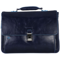 Bags Men Briefcases Piquadro CARTELLA PORTA PC Blu