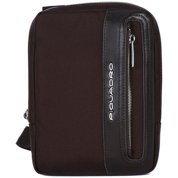 Bags Men Pouches / Clutches Piquadro BORSELLO ORGANIZZATO Marrone