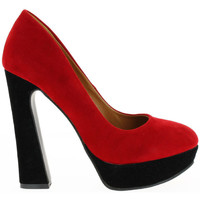 Shoes Women Heels Milanelli Pumps SAM red