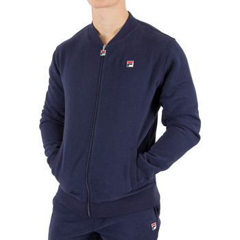 Clothing Men Track tops Fila Vintage Men's Guido Baseball Jacket, Blue blue