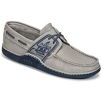 Shoes Men Boat shoes TBS GLOBEK Grey / Blue