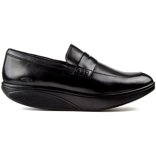 Shoes Men Loafers Mbt ASANTE 6 M BLACK
