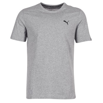 Clothing Men short-sleeved t-shirts Puma ESS TEE Grey