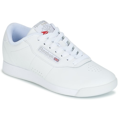 Reebok Classic PRINCESS White - Free delivery with Spartoo UK ... 89aca39df4