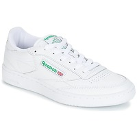 Shoes Low top trainers Reebok Classic CLUB C 85 White / Green
