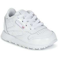 Shoes Girl Low top trainers Reebok Classic CLASSIC LEATHER PATENT White