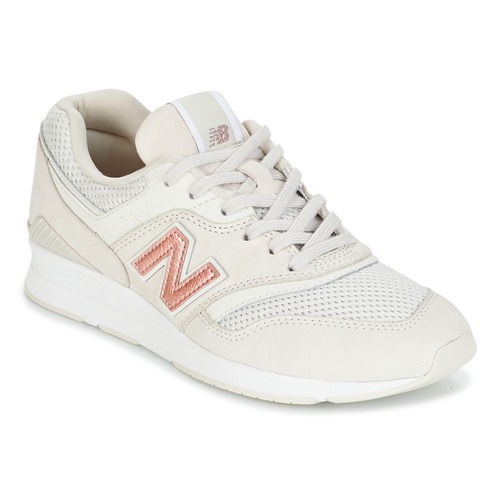 Shoes Women Low top trainers New Balance WL697 Beige