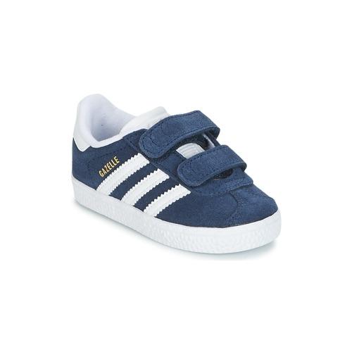 Shoes Children Low top trainers adidas Originals GAZELLE CF I Marine