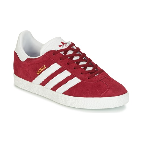 Shoes Children Low top trainers adidas Originals GAZELLE J Bordeaux