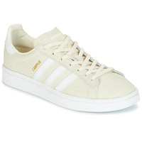 Shoes Women Low top trainers adidas Originals CAMPUS Cream