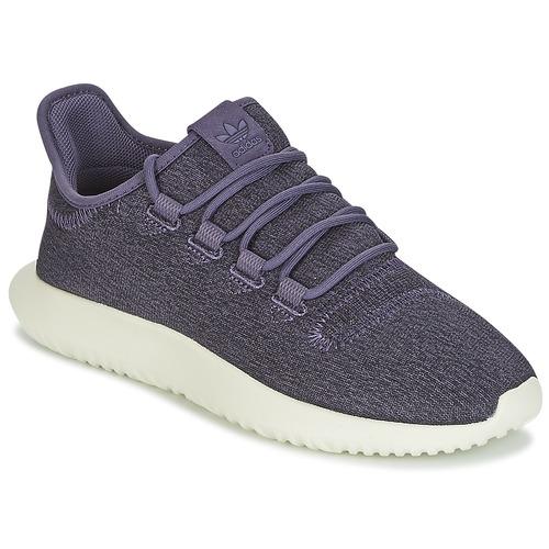 Shoes Women Low top trainers adidas Originals TUBULAR SHADOW W Purple