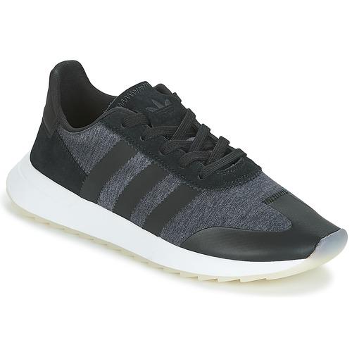 super popular 98236 2d1c0 Shoes Women Low top trainers adidas Originals FLB RUNNER W Black